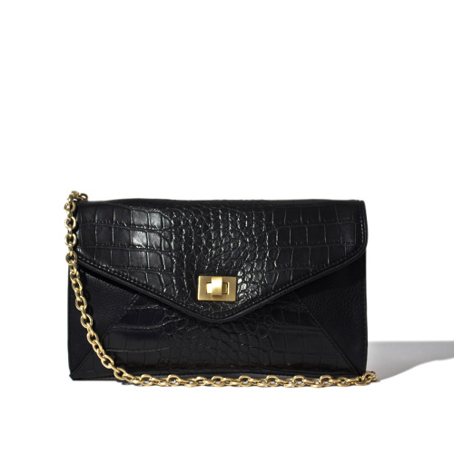 Roxy Crocodile Clutch