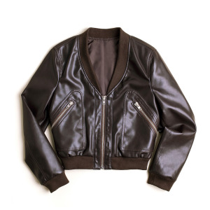 Olive Bomber - Brown