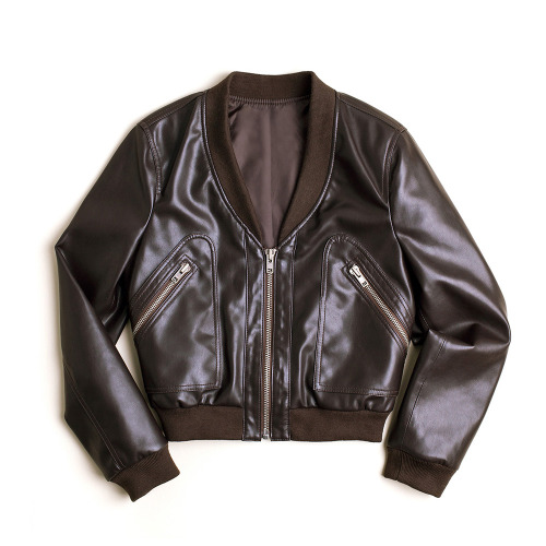 Olive Bomber – Brown